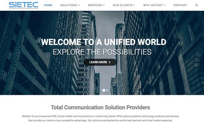 Responsive websites for business