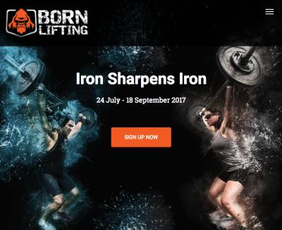 Born Lifting Website