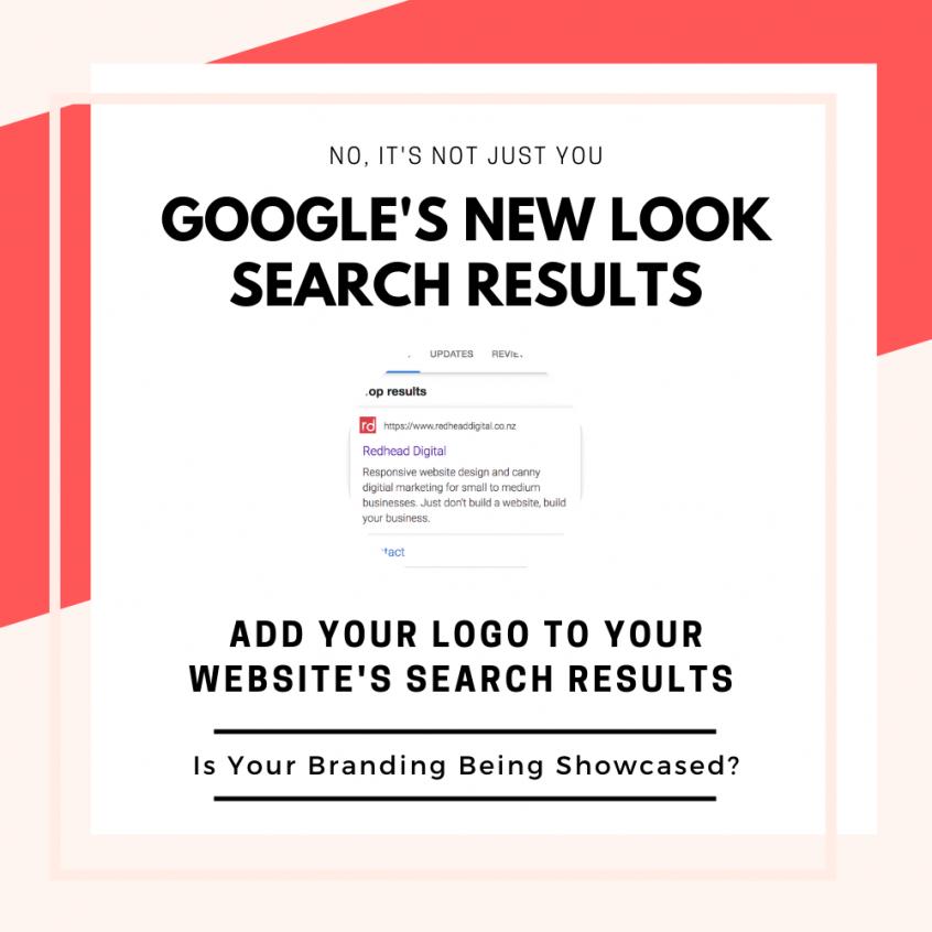 Google site Favicon update