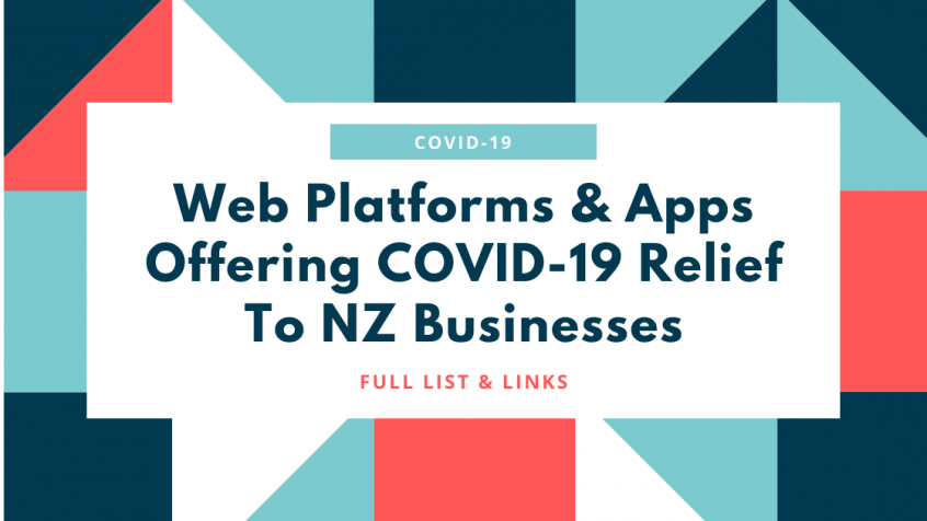 Web platforms COVID-19 NZ